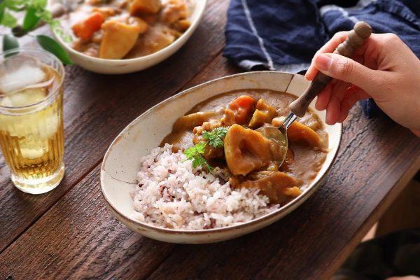 定番料理を秋野菜のレシピで!根菜カレー
