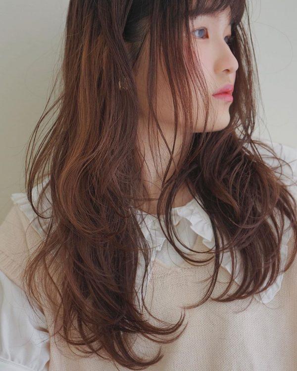 秋のトレンドおすすめ髪型【ロング】4