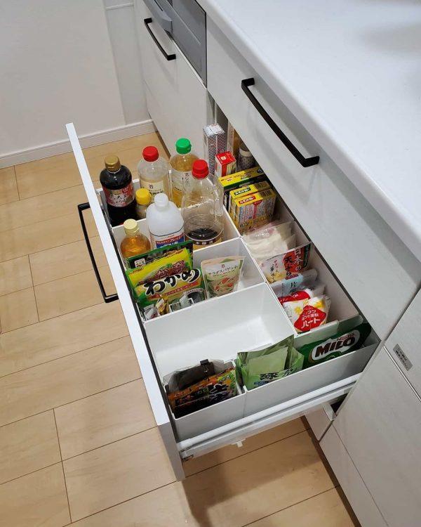キッチン周りの収納方法4