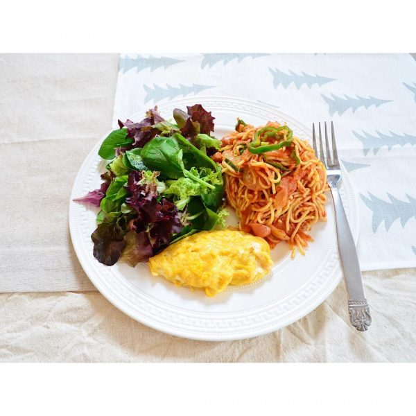 正月太り解消レシピ!ダイエットナポリタン
