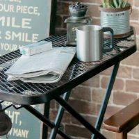 アイロン台で簡単アンティーク調サイドテーブルDIY