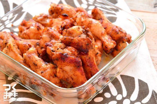 オーブンで鶏肉の美味しいレシピ☆おもてなし6
