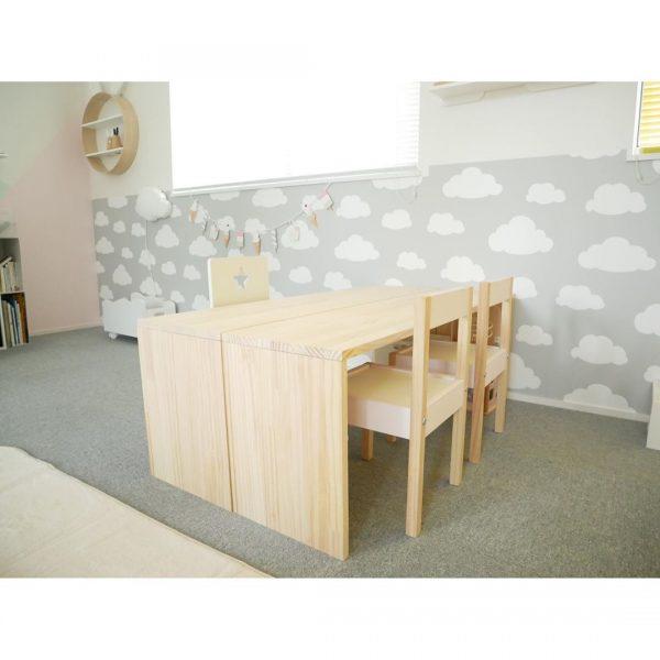 いろんな使い方ができる子供部屋