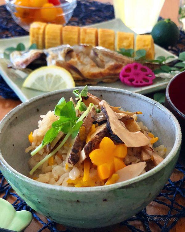 秋が旬の人気和食レシピ!松茸ごはん