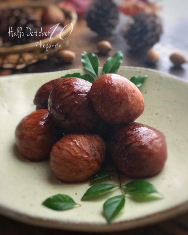 秋を楽しむ人気のレシピ!栗の渋皮煮
