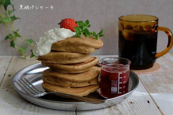 パンケーキの手作り生地のアレンジレシピ4