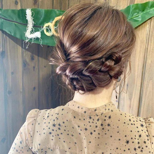 留袖に似合う50代女性の髪型《ロング》