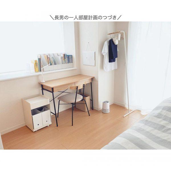 シンプル&実用的な子供部屋