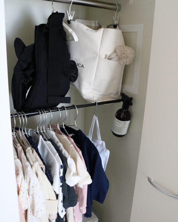 ベビー服の収納17