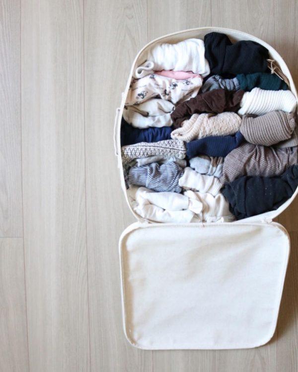 ベビー服の収納12