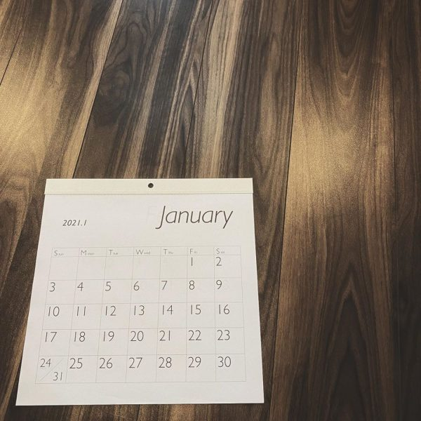 100均 カレンダー 手帳2