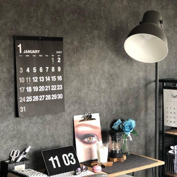 壁掛けカレンダー/ダイソー