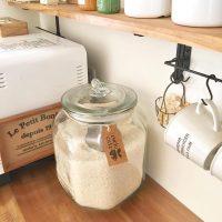 毎日食べるから「使いやすく」を意識。お米の機能的&おしゃれな収納方法を