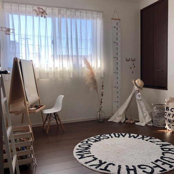 ティピーテントのある子供部屋インテリア4