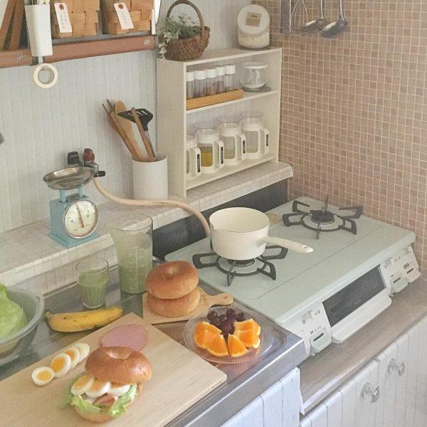 キッチン周りの収納方法9