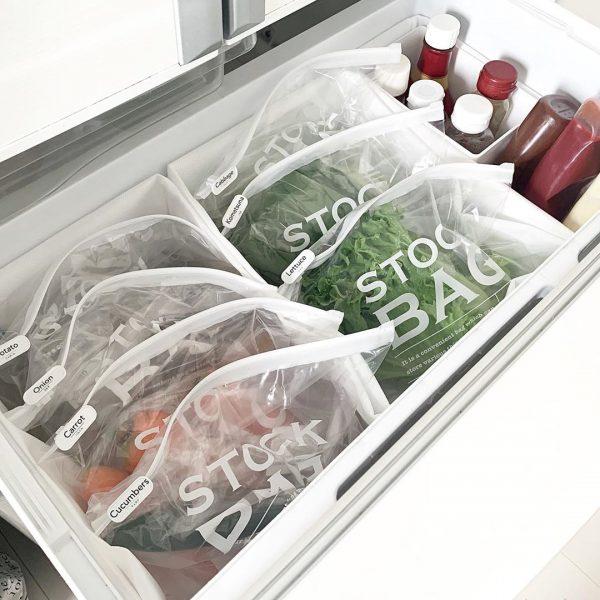冷蔵庫・冷凍庫収納9