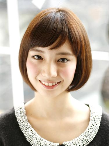 短め前髪×ショート【ストレート】2