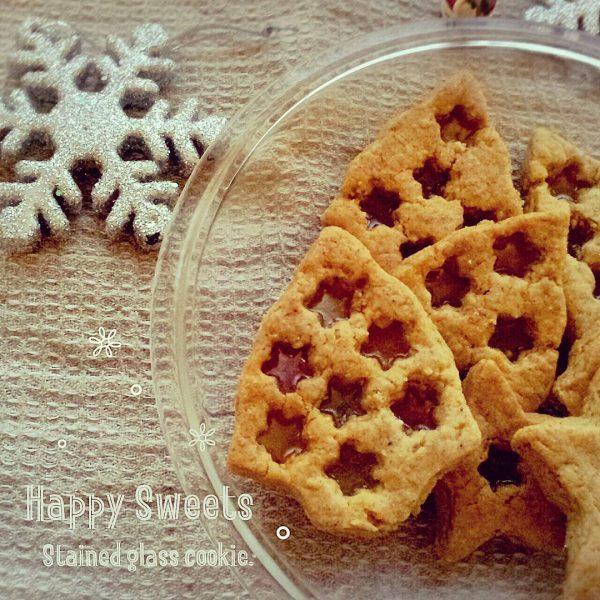 手作りの可愛いスイーツ!ステンドグラスクッキー