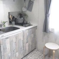 キッチンを活用したワンルームのレイアウト特集!収納アイデアもたくさん!