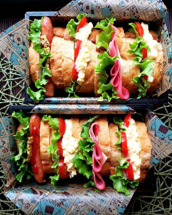 大人のおしゃれなお弁当レシピ特集♡サンドイッチ3