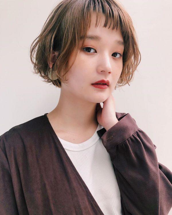 短め前髪×ショート【パーマ】3
