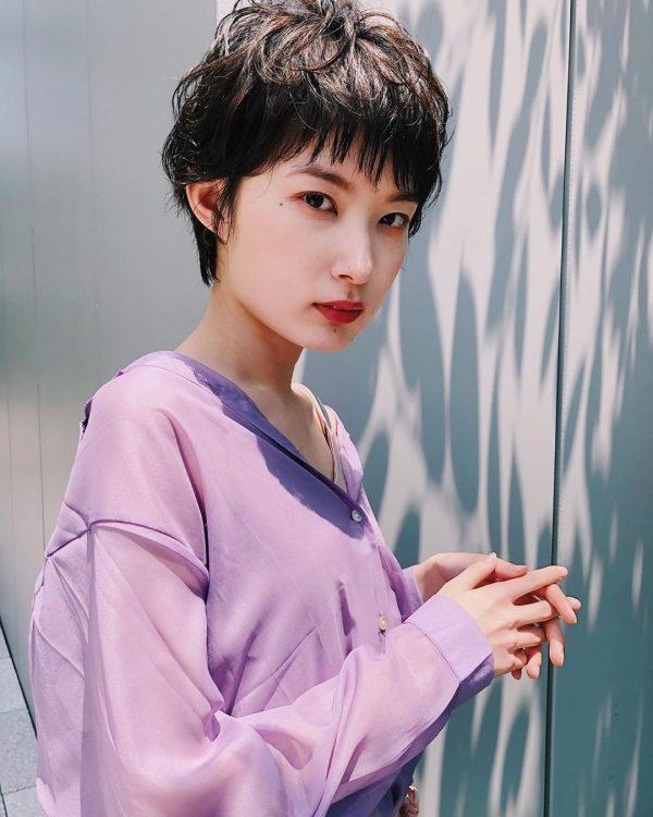 短め前髪×ショート【パーマ】4
