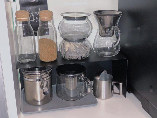 おしゃれなコーヒー&紅茶収納9