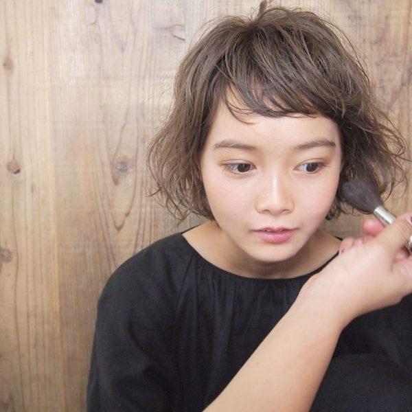 短め前髪×ショート【パーマ】7
