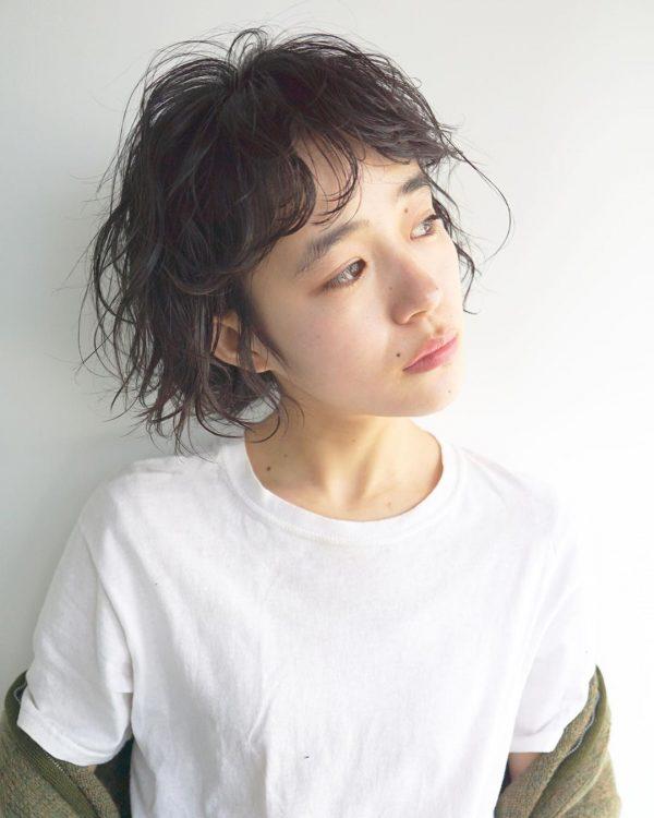 短め前髪×ショート【パーマ】6