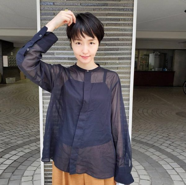 短め前髪×ショート【黒髪・暗髪】5
