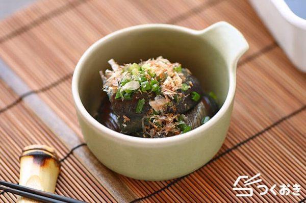 秋茄子の美味しい簡単レシピ☆煮物5