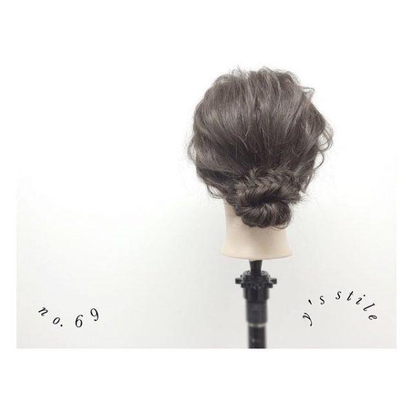 留袖姿におすすめの髪型11