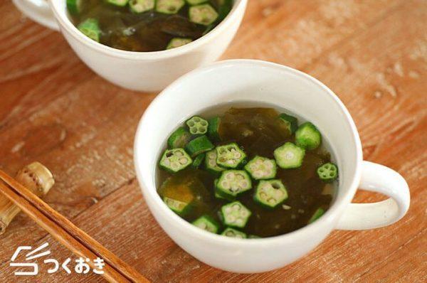 理想の朝ごはんで健康的なメニュー☆汁物5