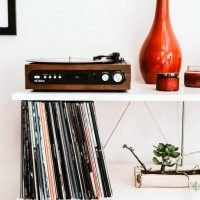 レコードをおしゃれに飾るアイデア特集!壁や棚にセンス良くディスプレイしよう♪