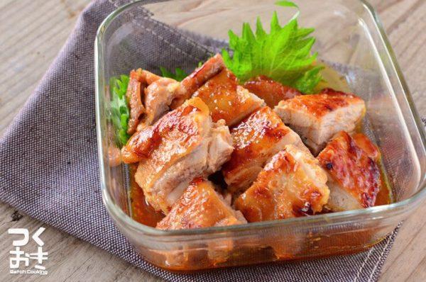 焼くだけ簡単な鶏もも肉レシピ☆主菜4