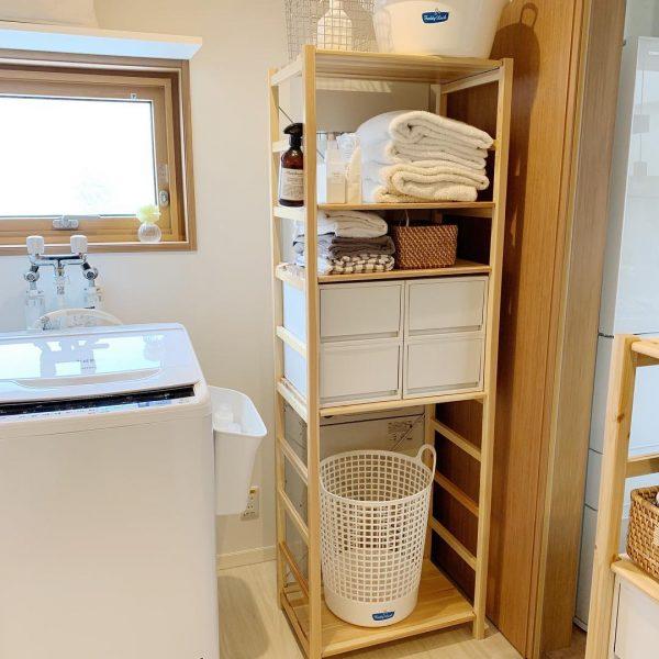 洗面・脱衣所のすっきり収納アイデア10