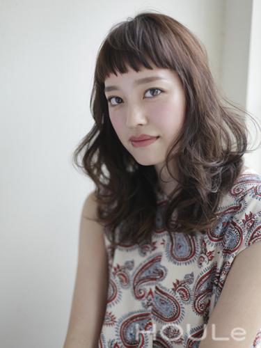 短め前髪×ミディアム19