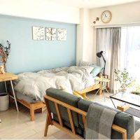 10畳以下のコンパクトスペースでもおしゃれに♡一人暮らしのベッドスペース実例
