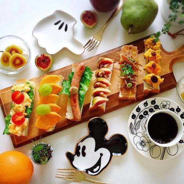 インスタ映えオープンサンドイッチの作り方