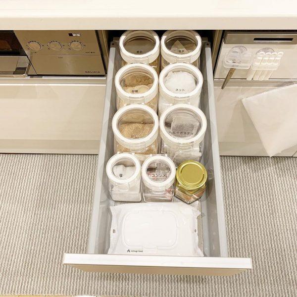 キッチン周りの収納方法7