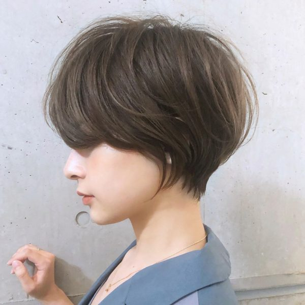 秋のトレンドおすすめ髪型【ショート】5
