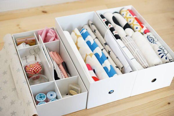 分類収納できるから使いやすいお裁縫セット