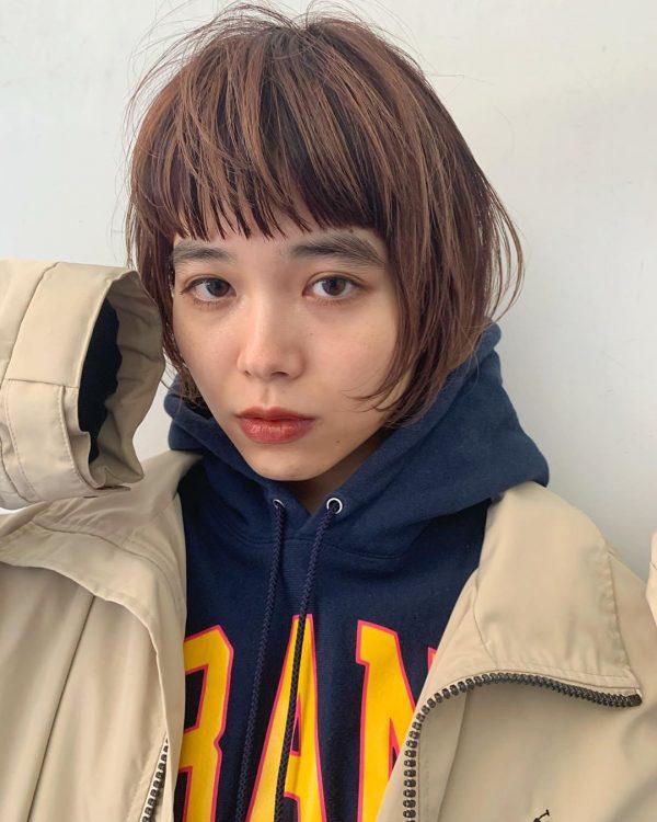 秋のトレンドおすすめ髪型【ショート】2