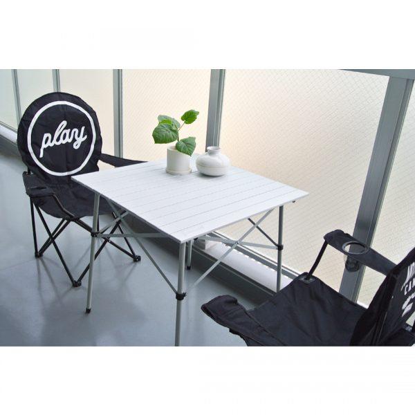 ④椅子や机を準備
