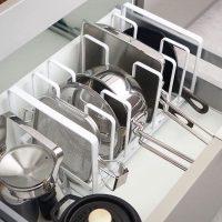 毎日使うものを使いやすく収納したい!カトラリーや調理器具などの収納方法をご紹介