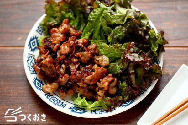テジカルビ(韓国風豚の焼き肉)