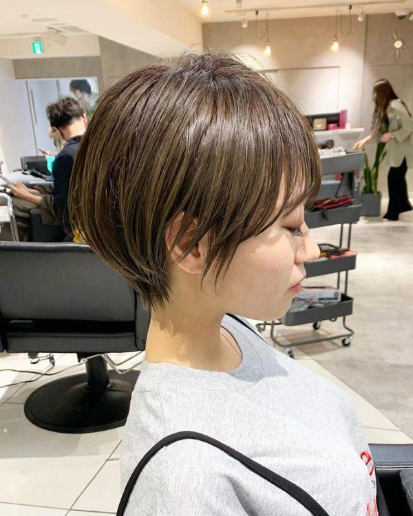 秋のトレンドおすすめ髪型【ショート】3