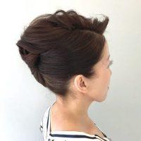 留袖に似合う50代女性の髪型特集!格式高い雰囲気に合うヘアスタイルをご紹介!