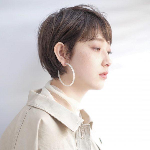 短め前髪×ショート【ストレート】6
