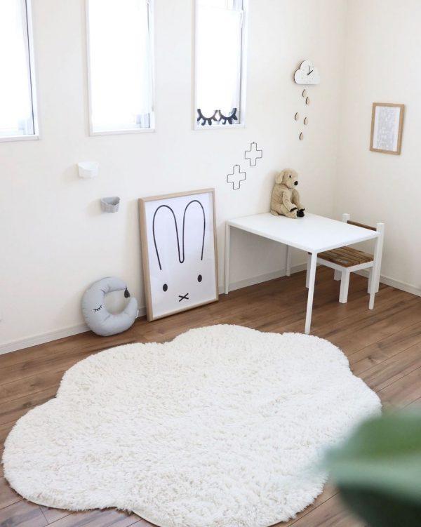 柔らかい雰囲気のおしゃれな子供部屋